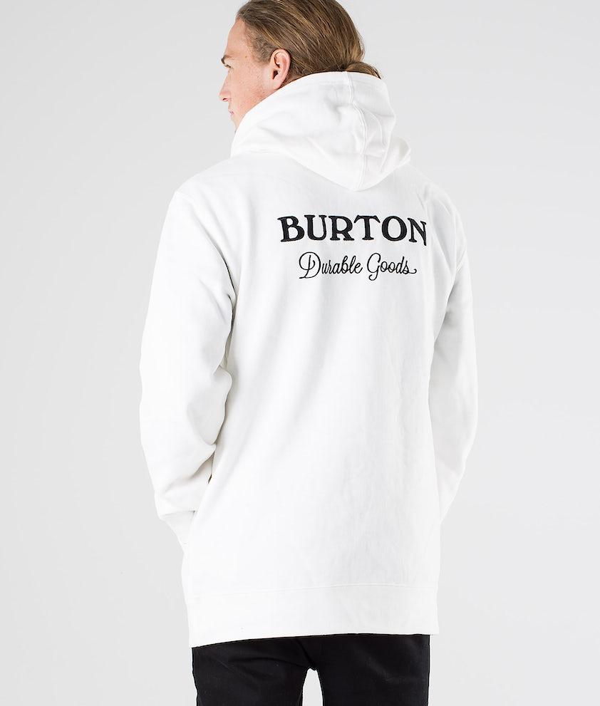 Burton Durable Goods Hood Stout White