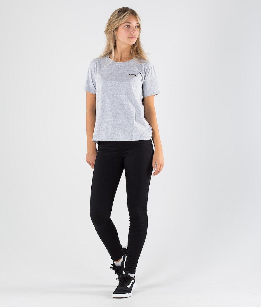 Burton Classic Pocket T-shirt Dam Gray Heather