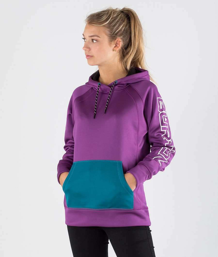 Burton Crown Bonded Solution Sweater Purple Magic