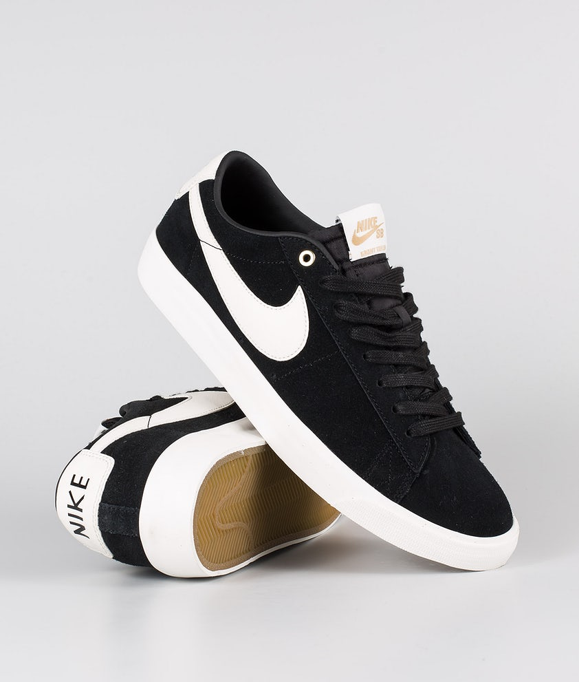 Nike Nike Sb Zoom Blazer Low Gt Shoes Black/Sail