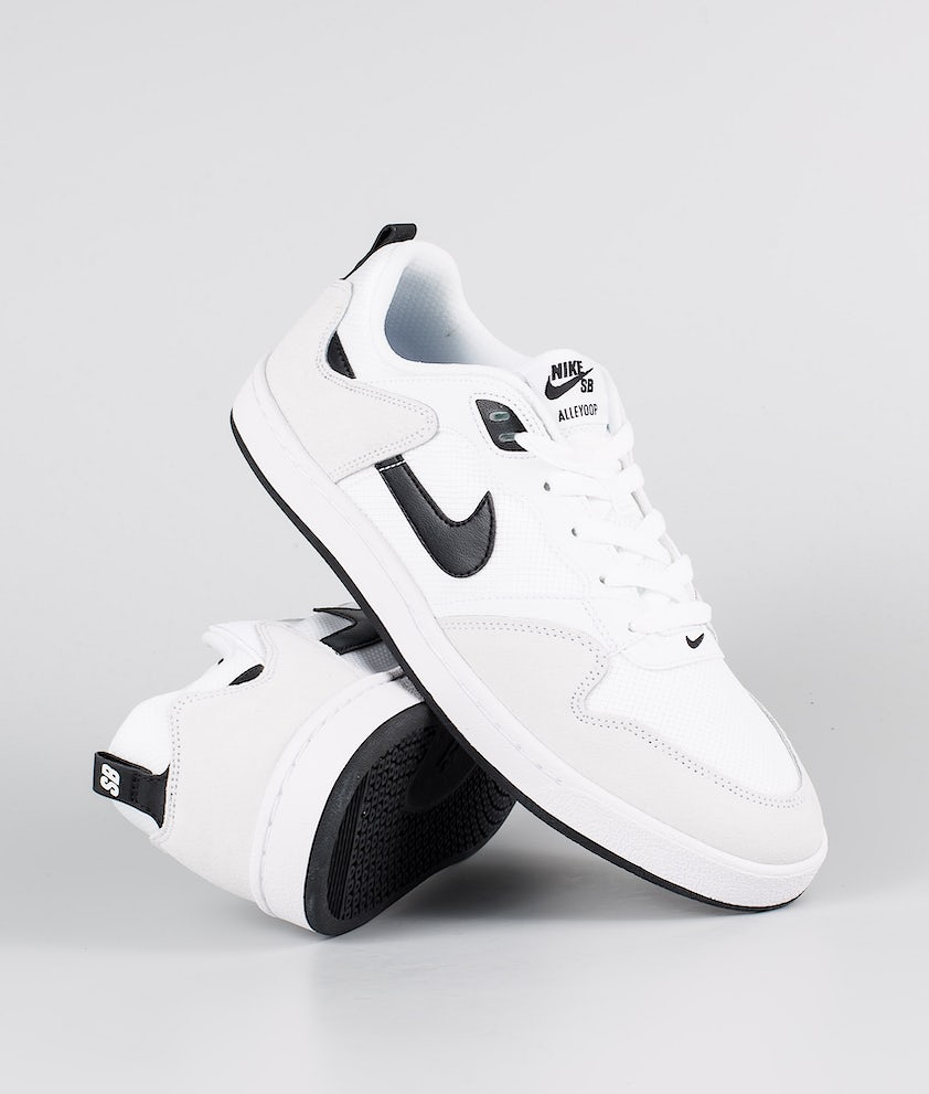Nike Nike Sb Alleyoop Shoes White/Black-White