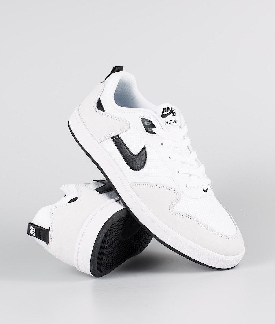 Nike Nike Sb Alleyoop Kengät White/Black-White