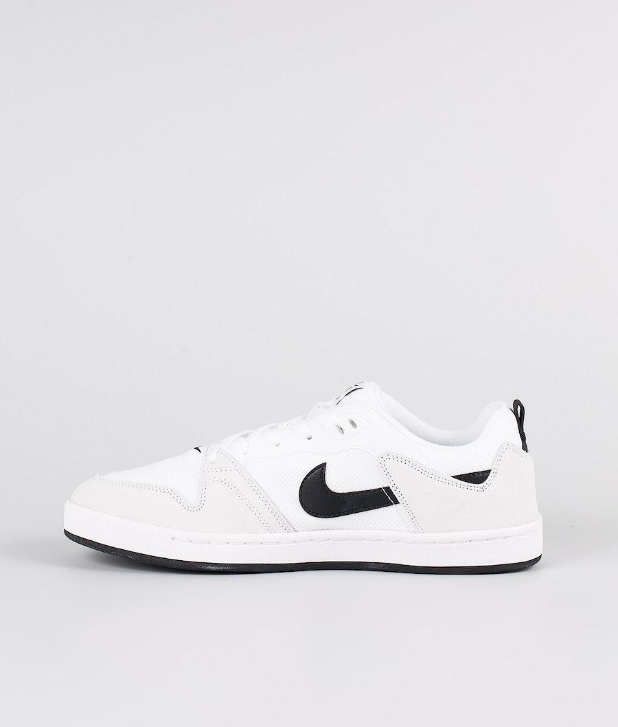 Nike Nike Sb Alleyoop Shoes White/Black-White