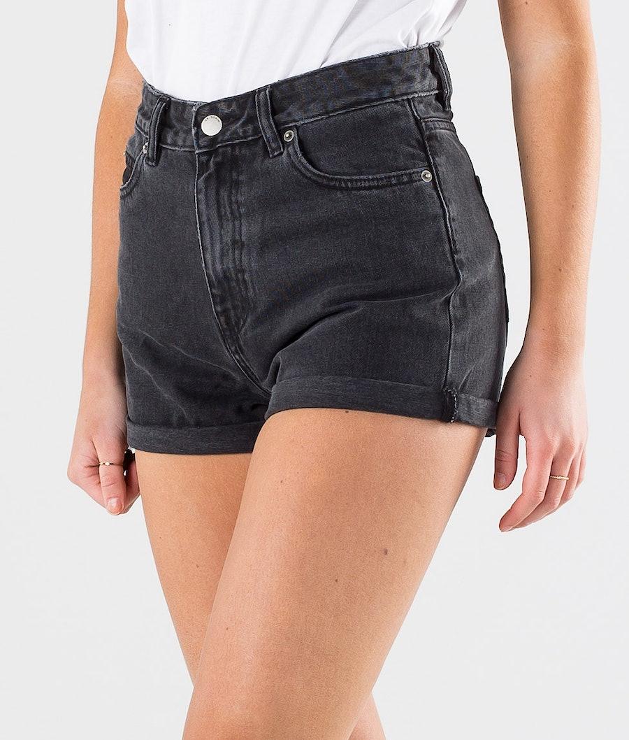 Dr Denim Jenn Shorts Shorts Damen Retro Black