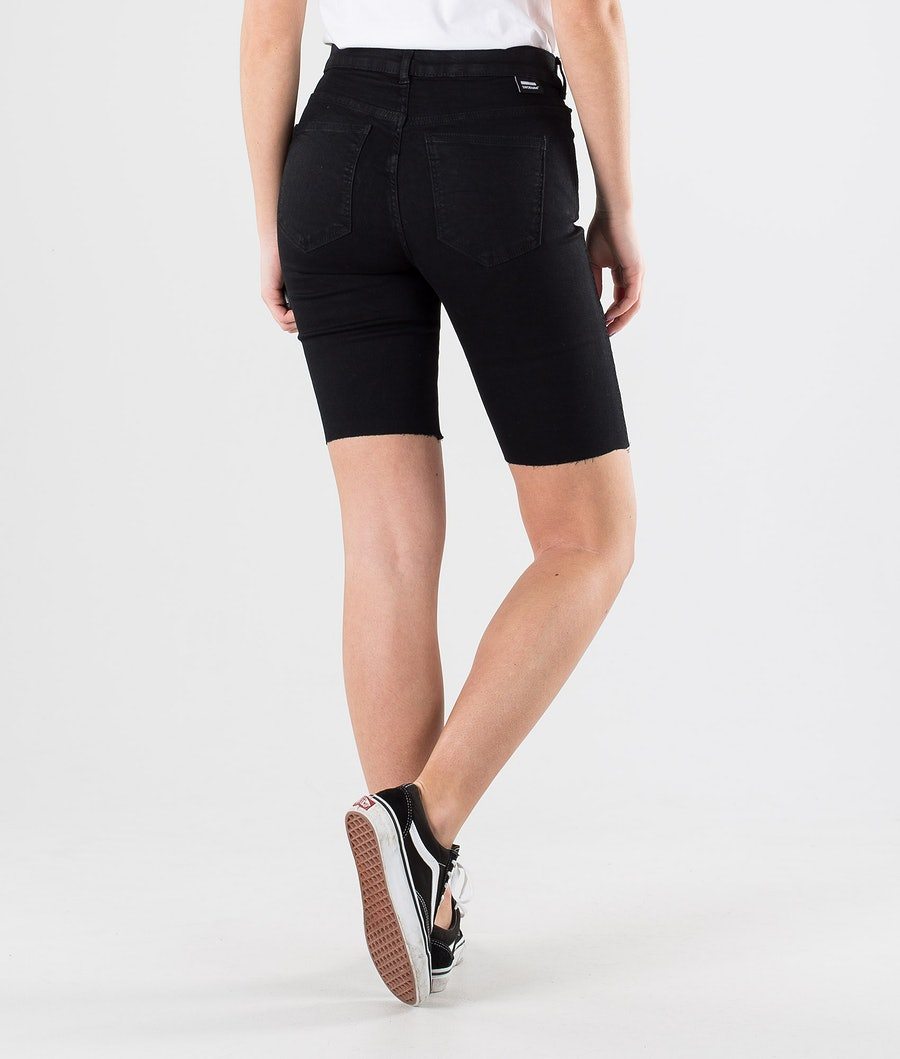 Dr Denim Lexy Bicycle Shorts Shorts Dam Black