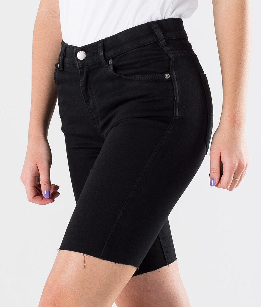 Dr Denim Lexy Bicycle Shorts Women's Shorts Black