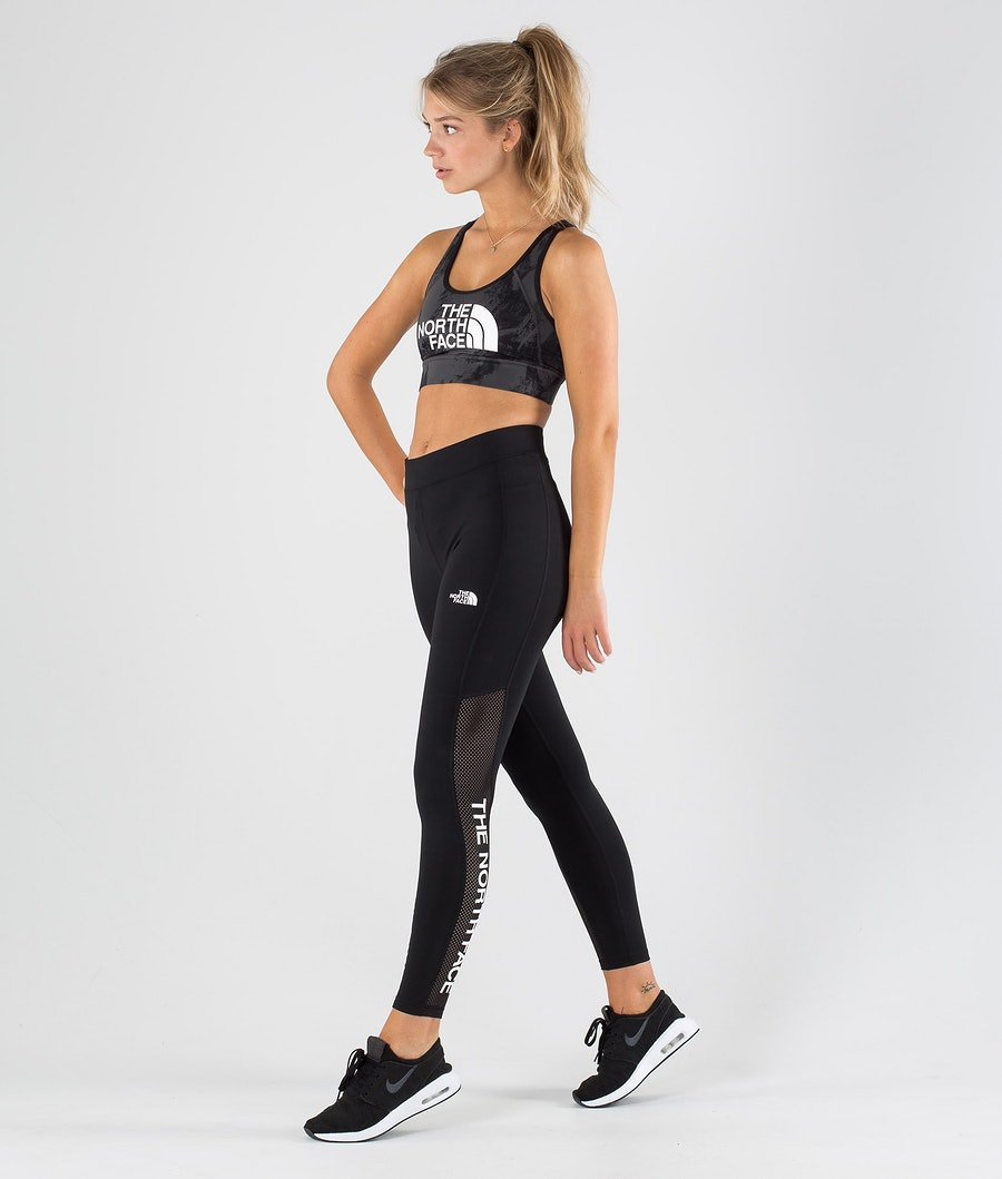 The North Face Train N Logo High Rise Leggings Donna Tnf Black
