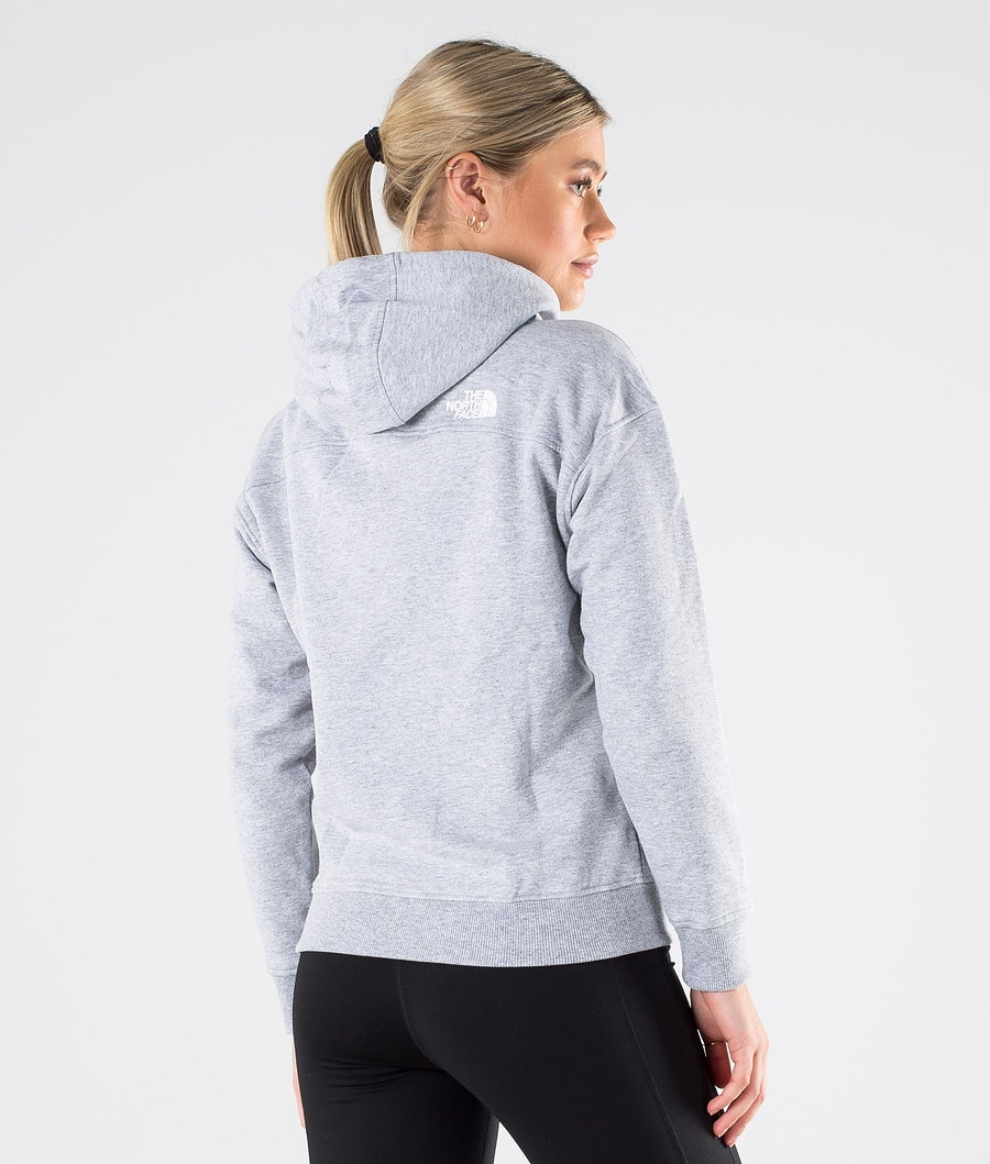 The North Face Light Drew Peak Hood Dam Tnf Light Grey Heather/Tnf White