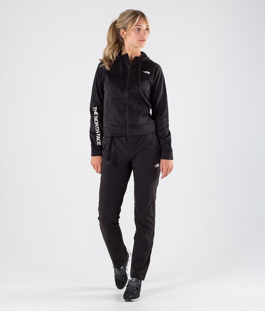 The North Face W Train N Logo Full Zip Giacca Donna Tnf Black