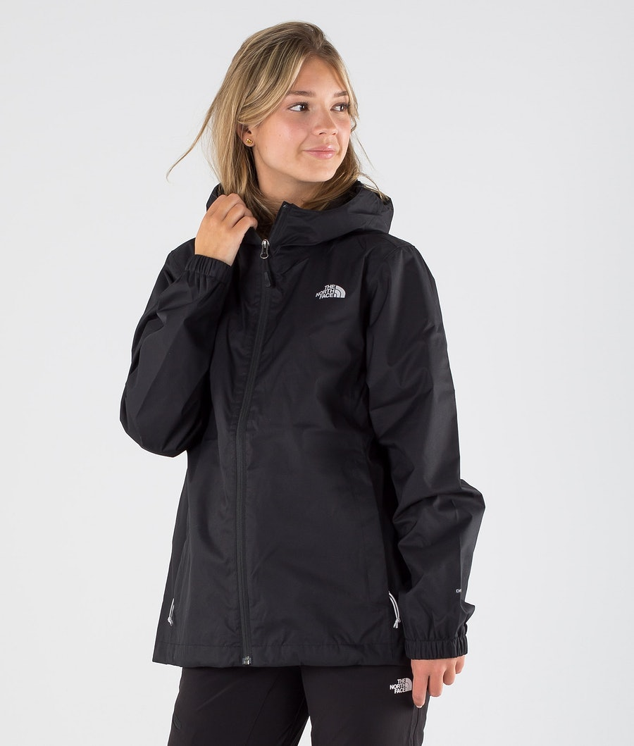The North Face Quest Jakke Tnf Black/Foil Grey