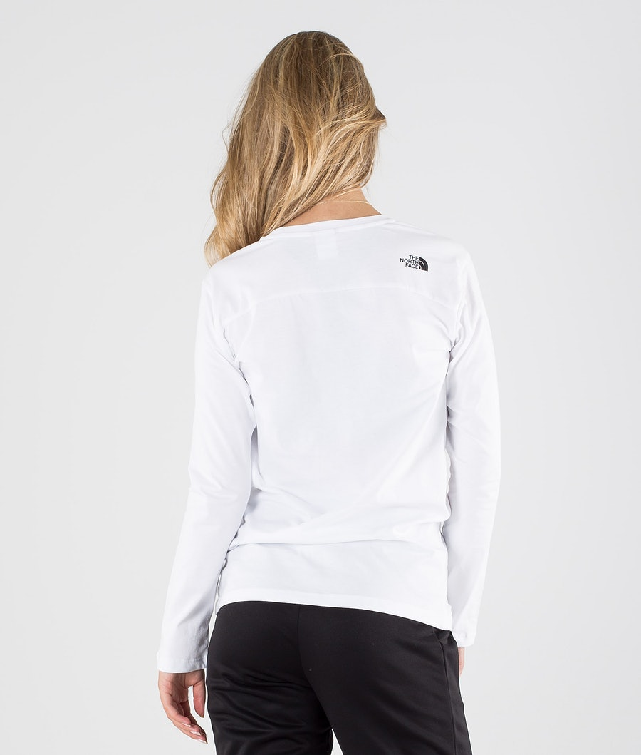 The North Face Simple Dome Manica lunga Donna Tnf White