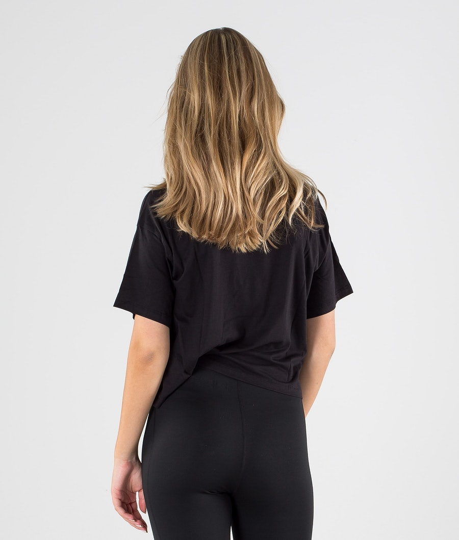 The North Face Half Dome Cropped T-shirt Donna Tnf Black