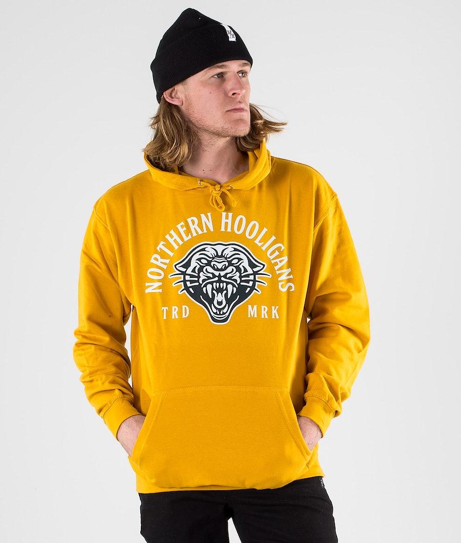 Northern Hooligans Mountain Lion Hoodie Mustard