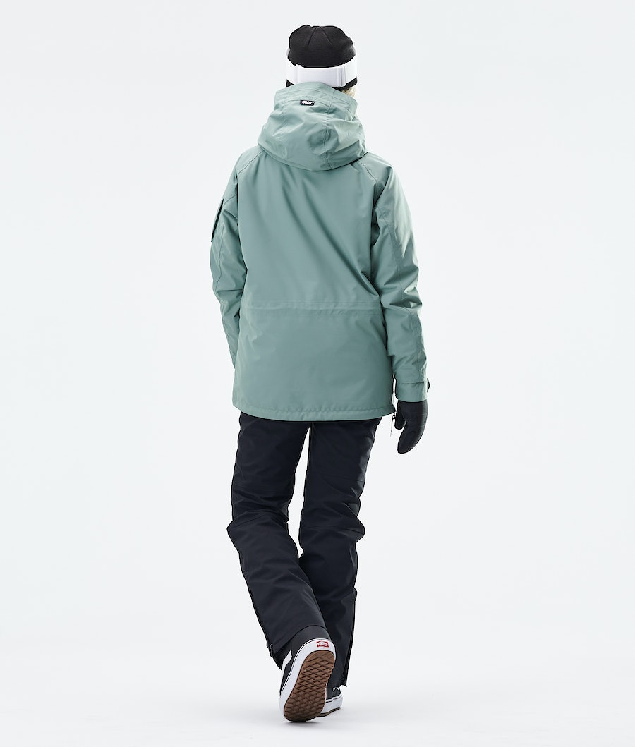 Dope Annok W Snowboardjacke Damen Faded Green