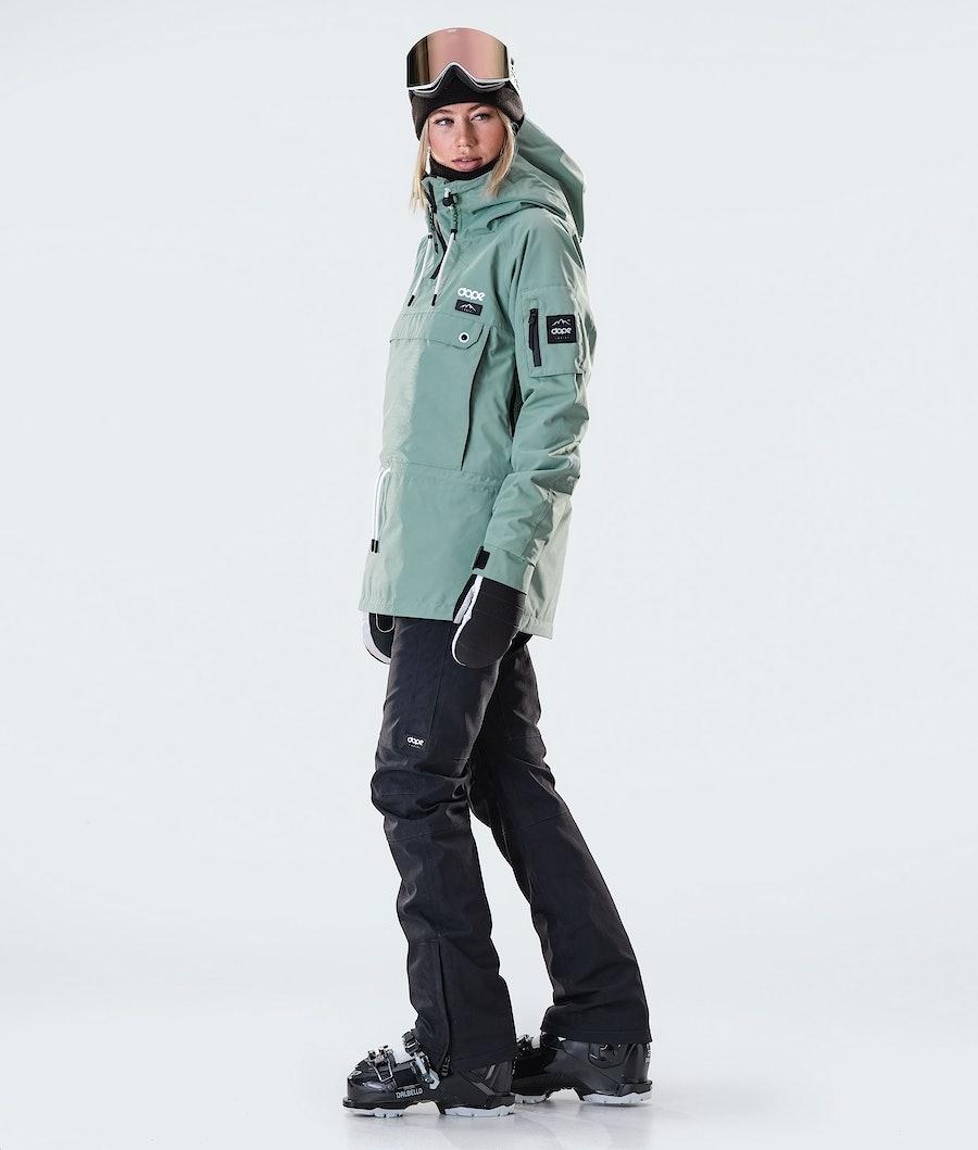Dope Annok W Women's Ski Jacket Faded Green