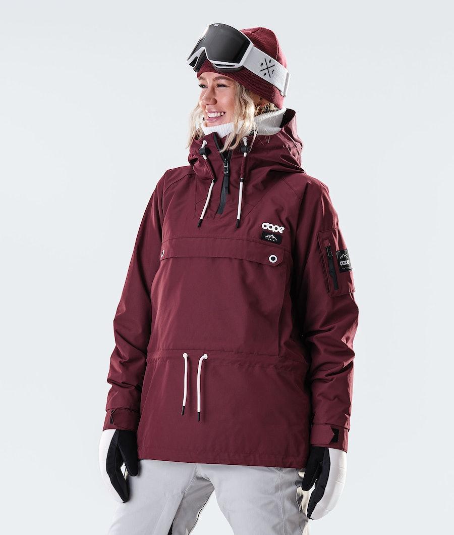 Dope Annok W Snowboard jas Burgundy