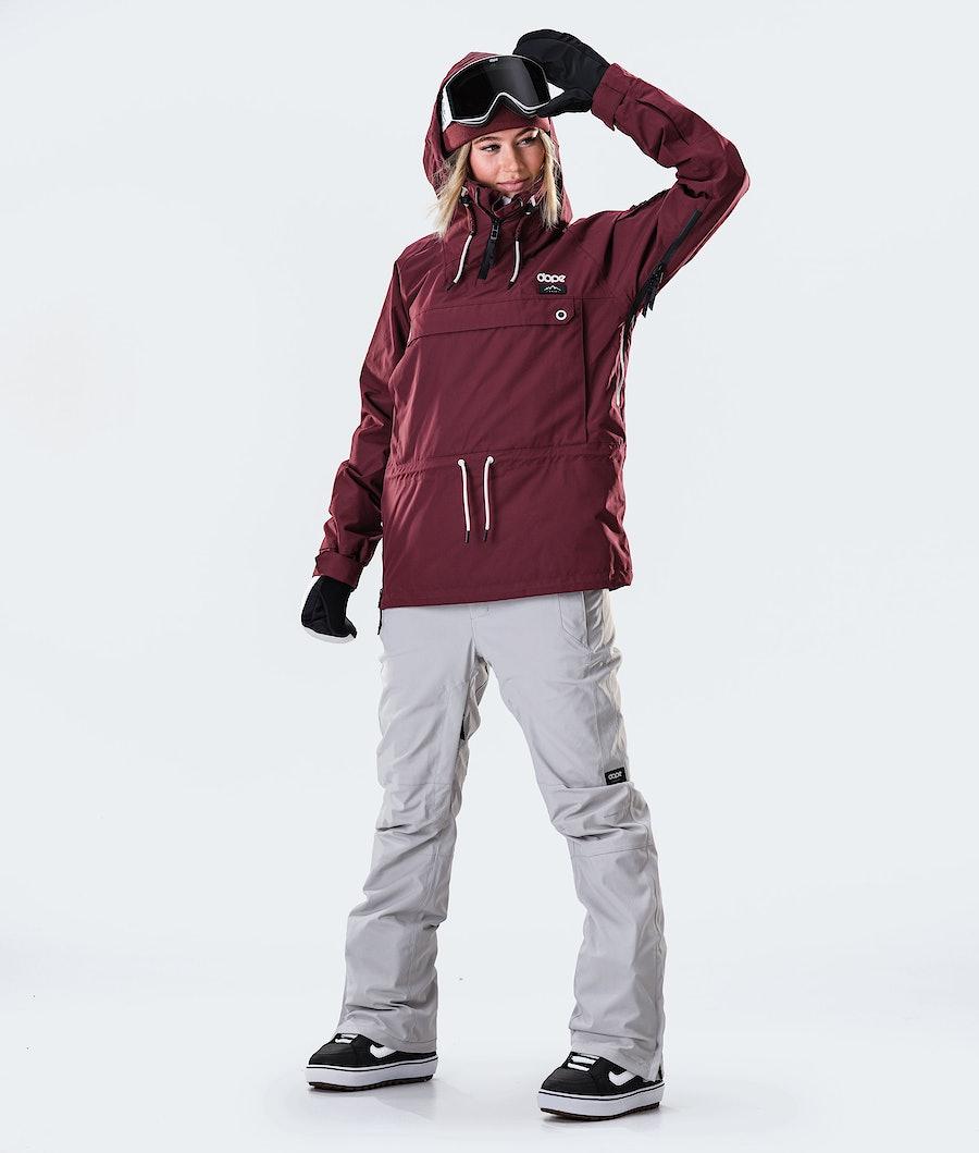 Dope Annok W Giacca da Snowboard Donna Burgundy
