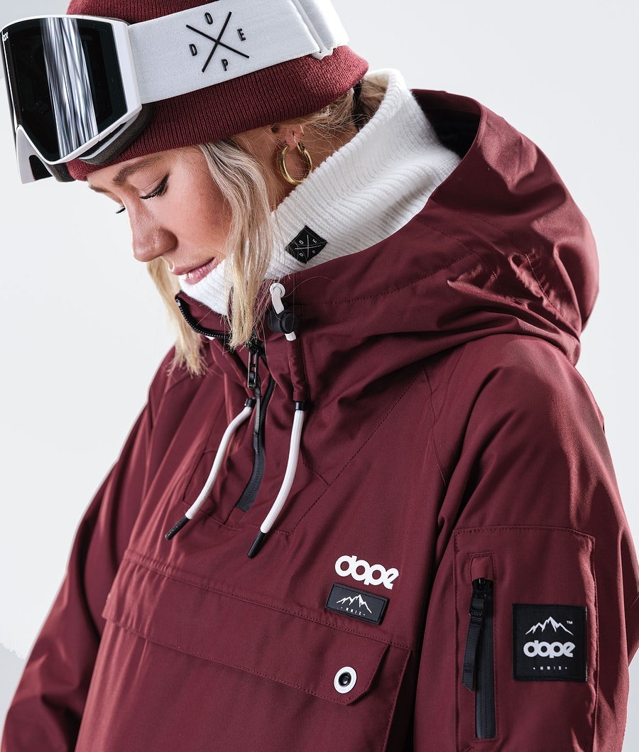 Dope Annok W Veste de Ski Femme Burgundy