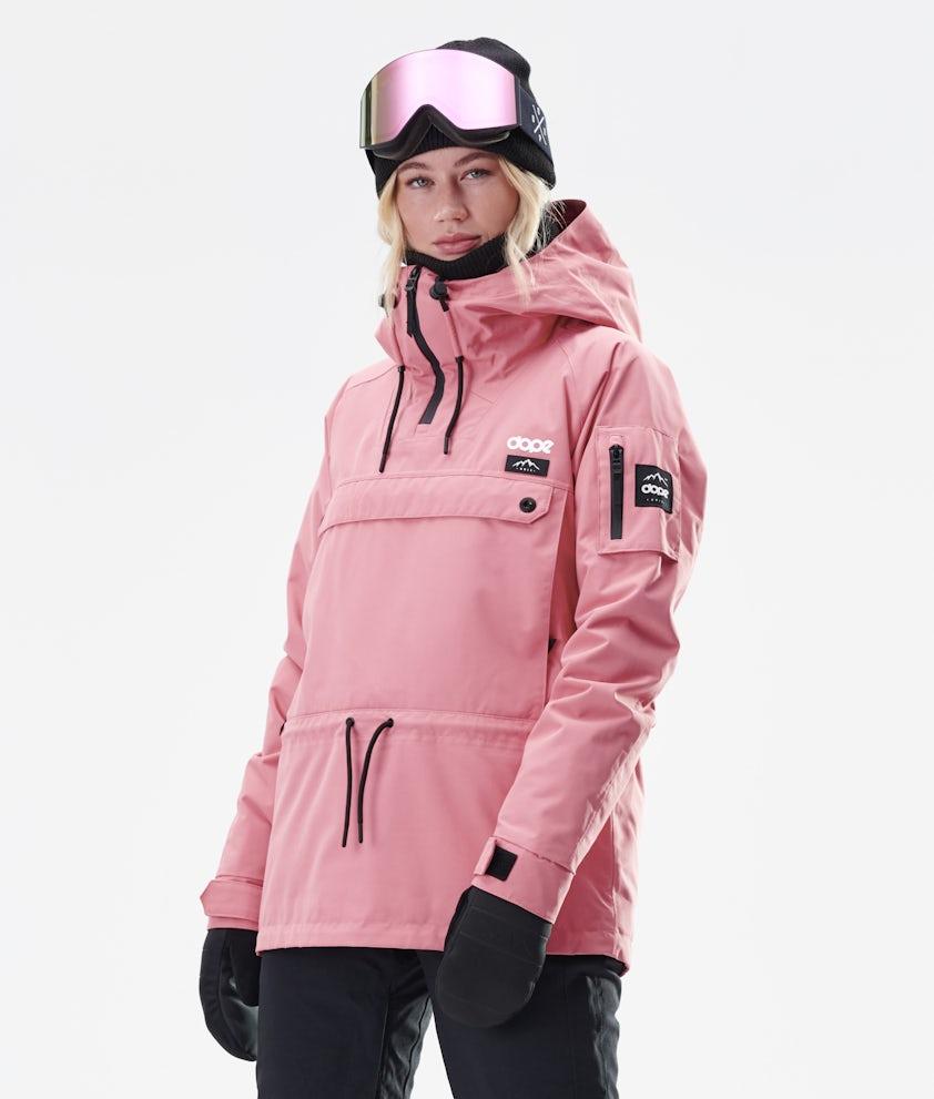 Annok W Snowboard Jacket Women Pink