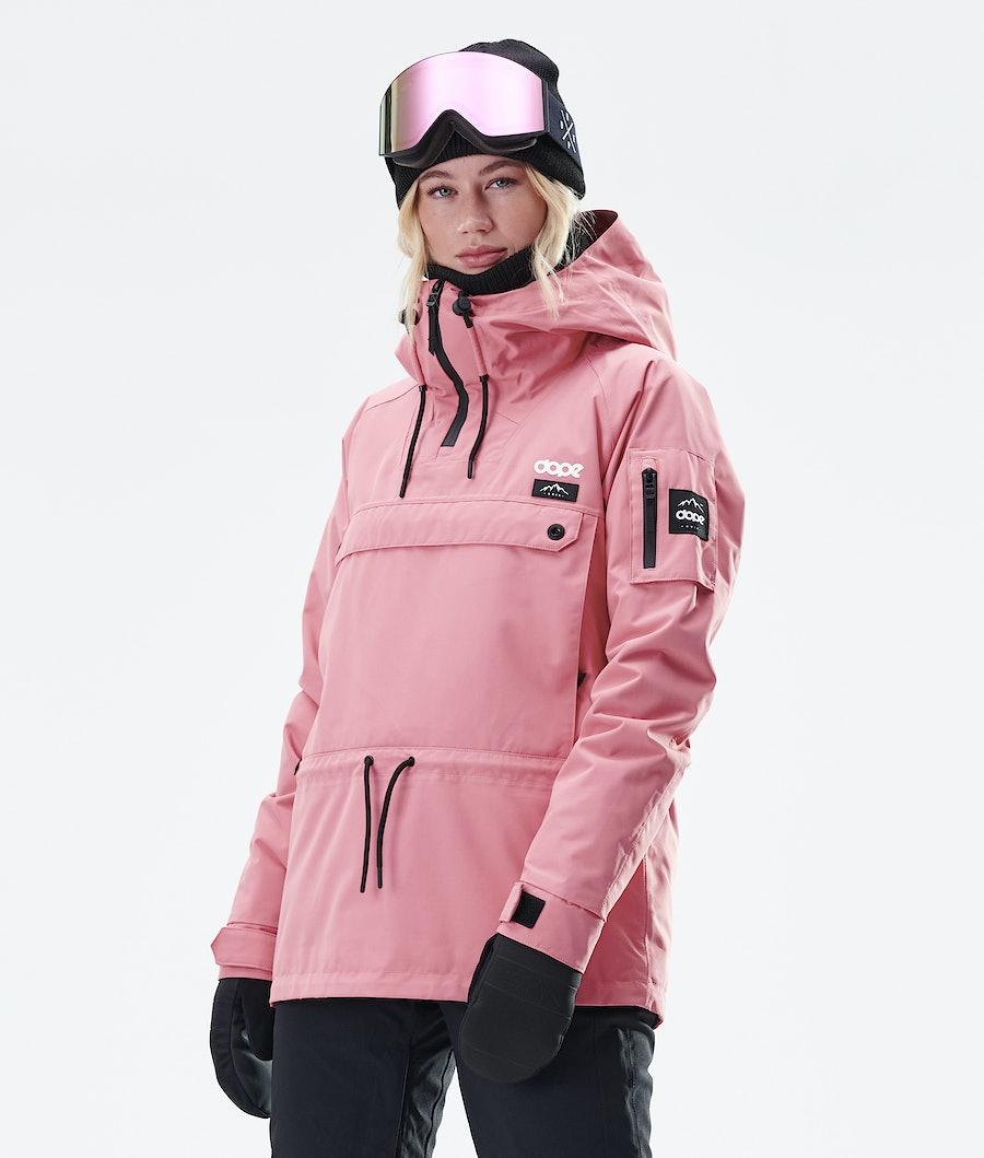 Dope Annok W Lumilautailutakki Pink
