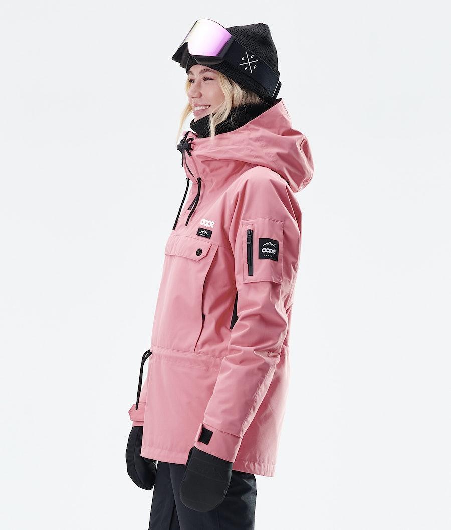 Dope Annok W Veste de Snowboard Femme Pink