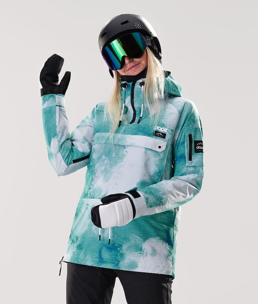 Dope Annok W Snowboard Jacket Water White
