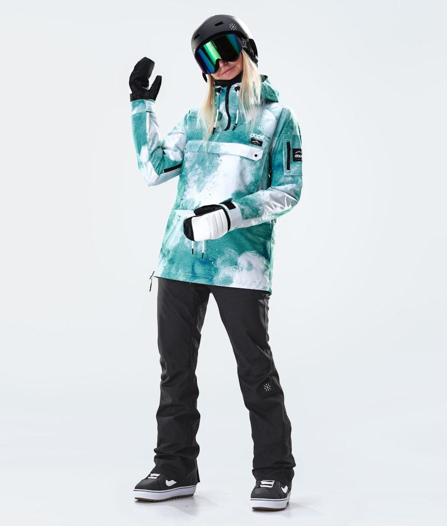 Dope Annok W Women's Snowboard Jacket Water White