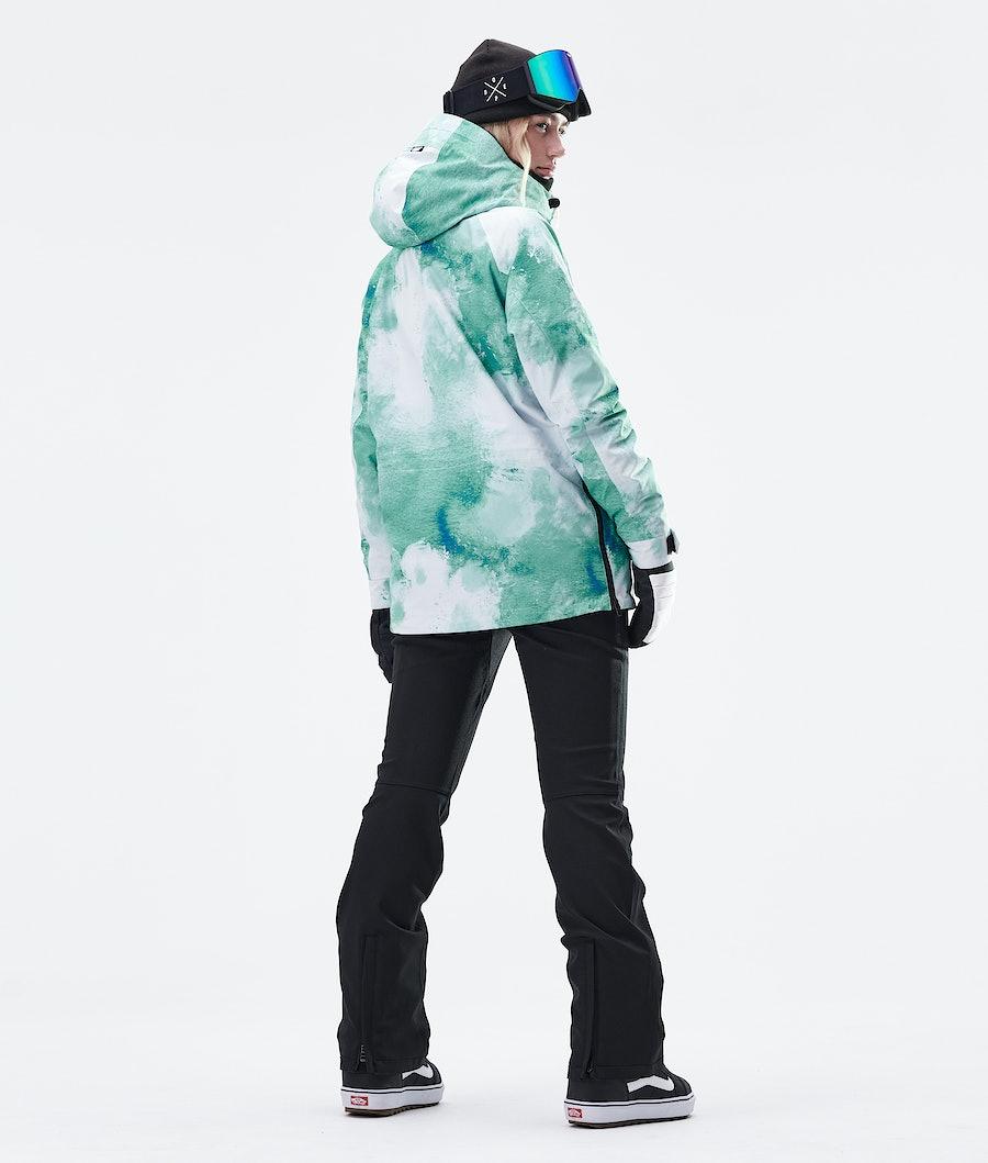 Dope Annok W Veste de Snowboard Femme Water White