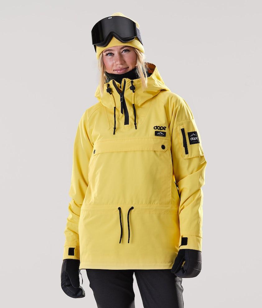 Dope Annok W Snowboard Jacket Faded Yellow