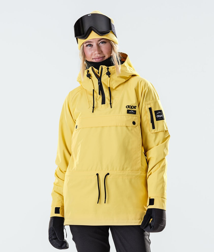 Dope Annok W Ski Jacket Faded Yellow