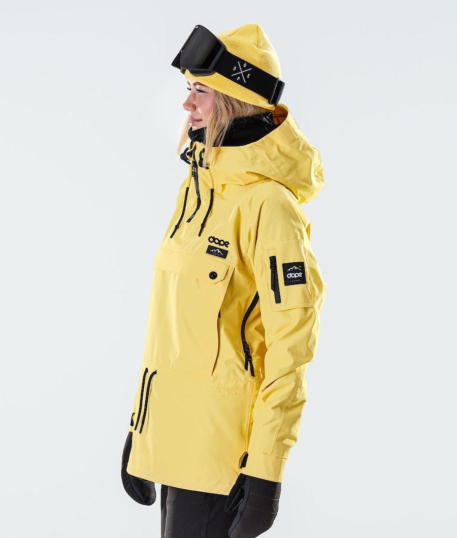 Dope Annok W Veste de Ski Femme Faded Yellow