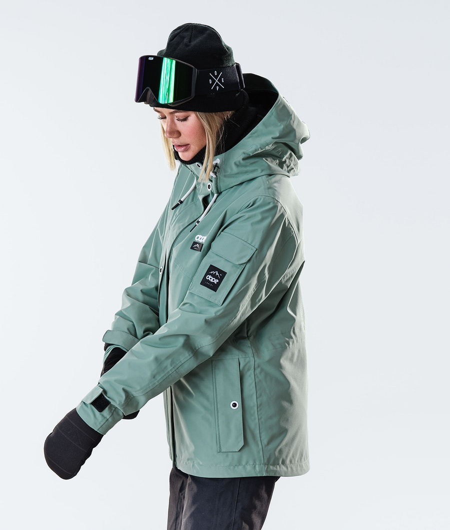 Dope Adept W Snowboardjacke Damen Faded Green