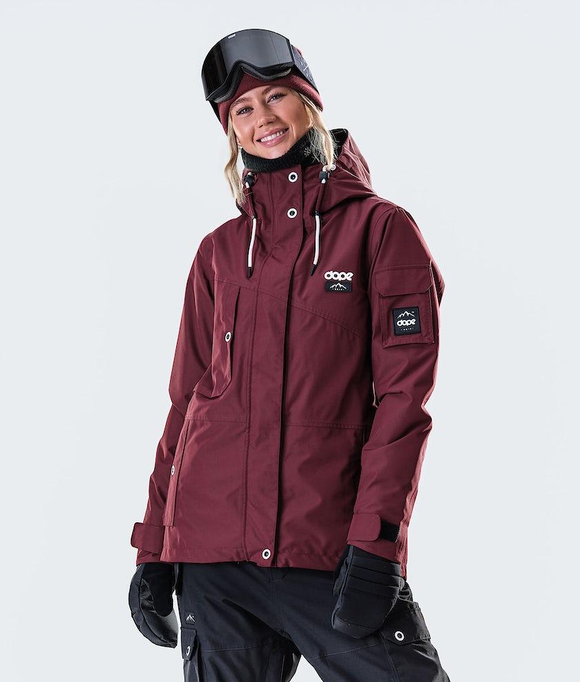 Dope Adept W Snowboard Jacket Burgundy