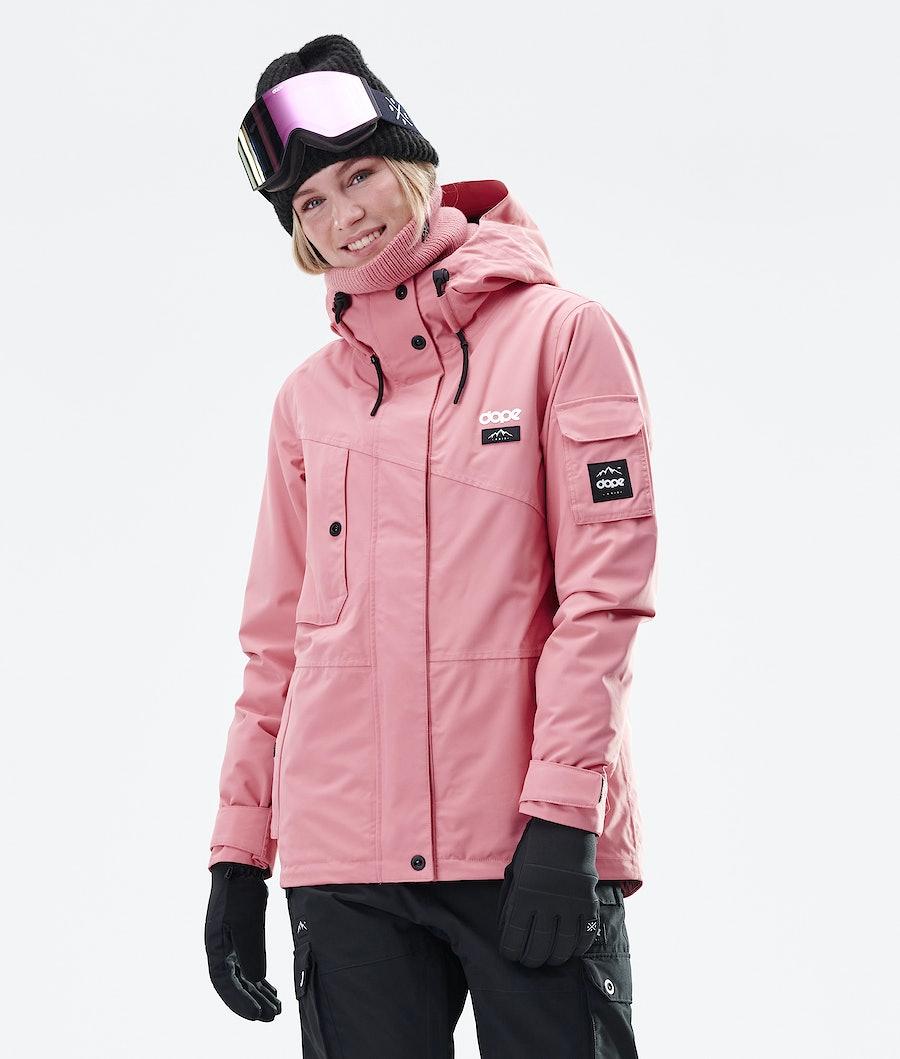 Dope Adept W Veste de Snowboard Pink