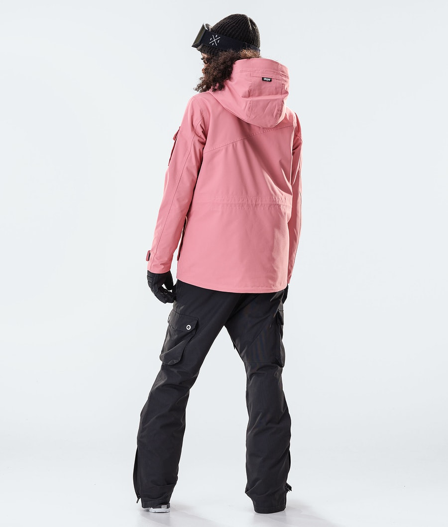 Dope Adept W Veste de Ski Femme Pink