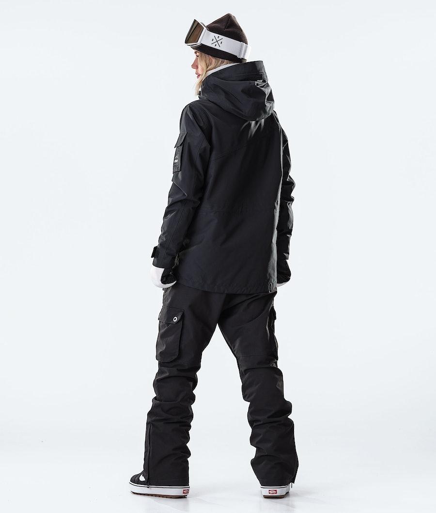 Dope Adept W Veste de Snowboard Femme Black