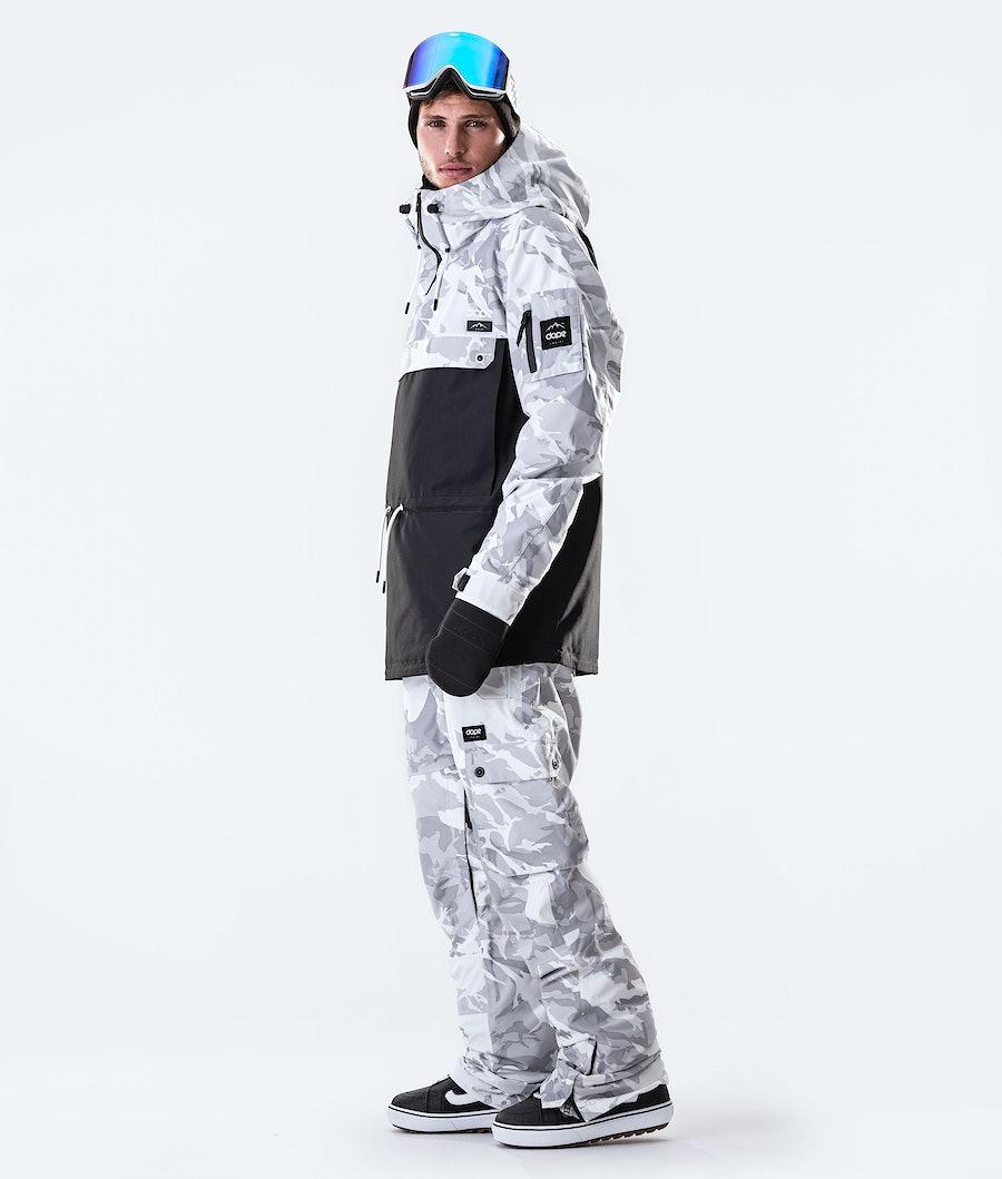 Dope Annok Snowboard Jacket Tucks Camo/Black