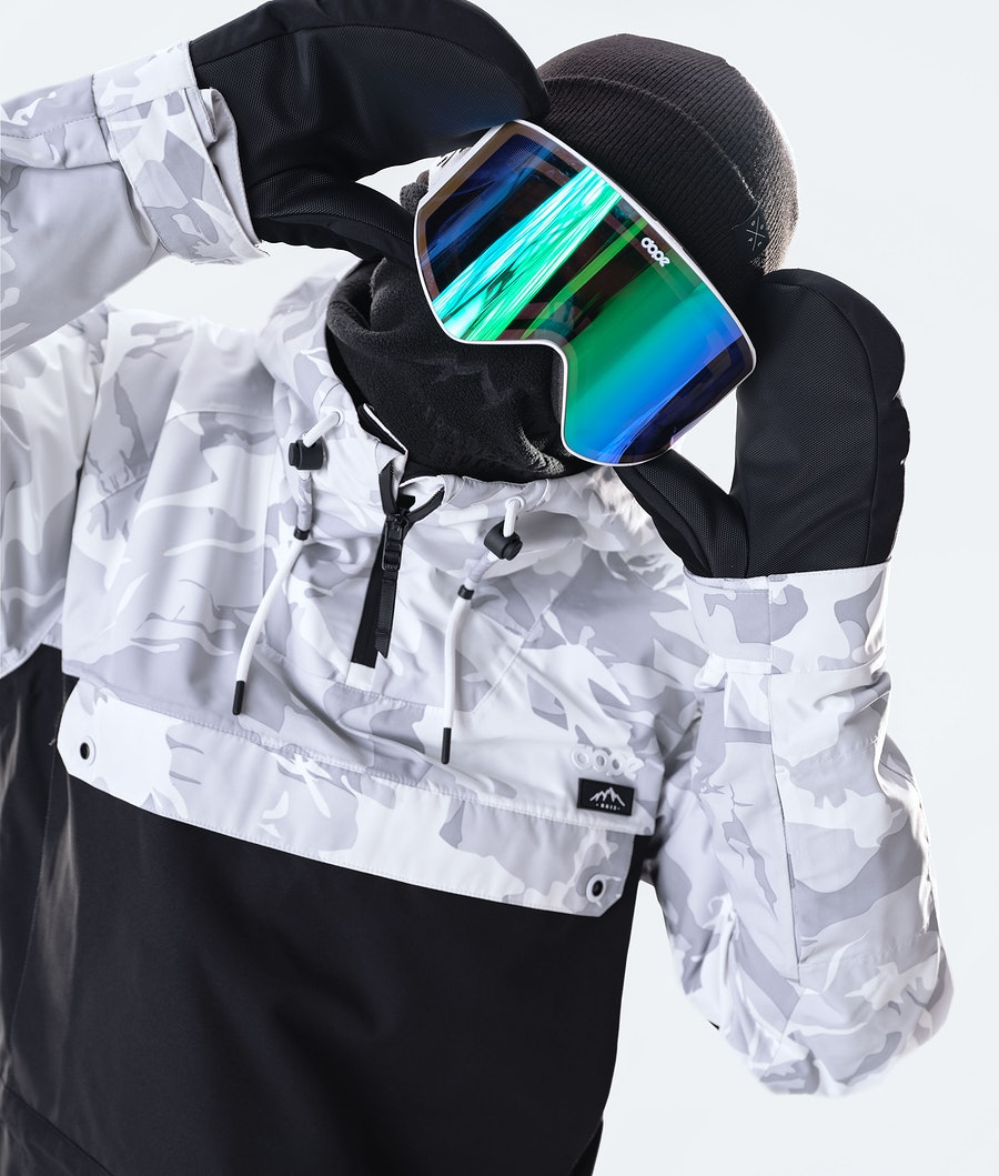 Dope Annok Ski Jacket Tucks Camo/Black