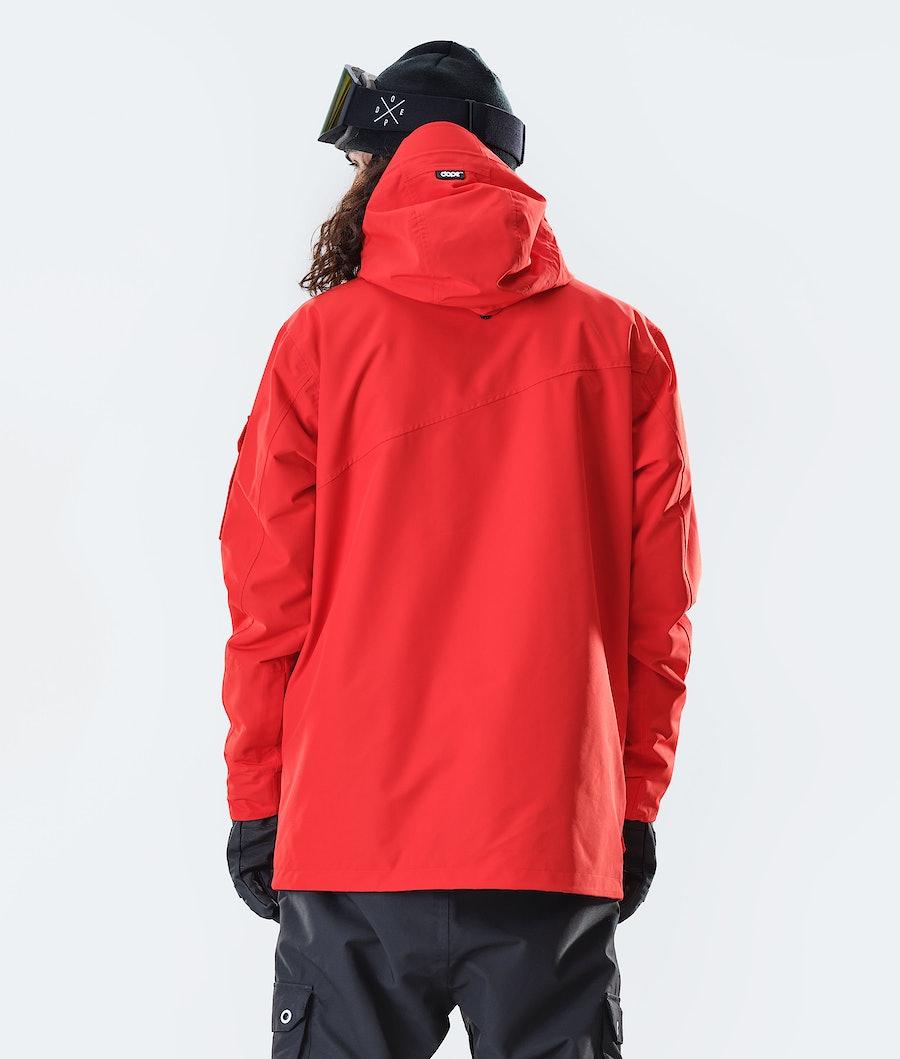 Dope Adept Snowboard Jacket Red