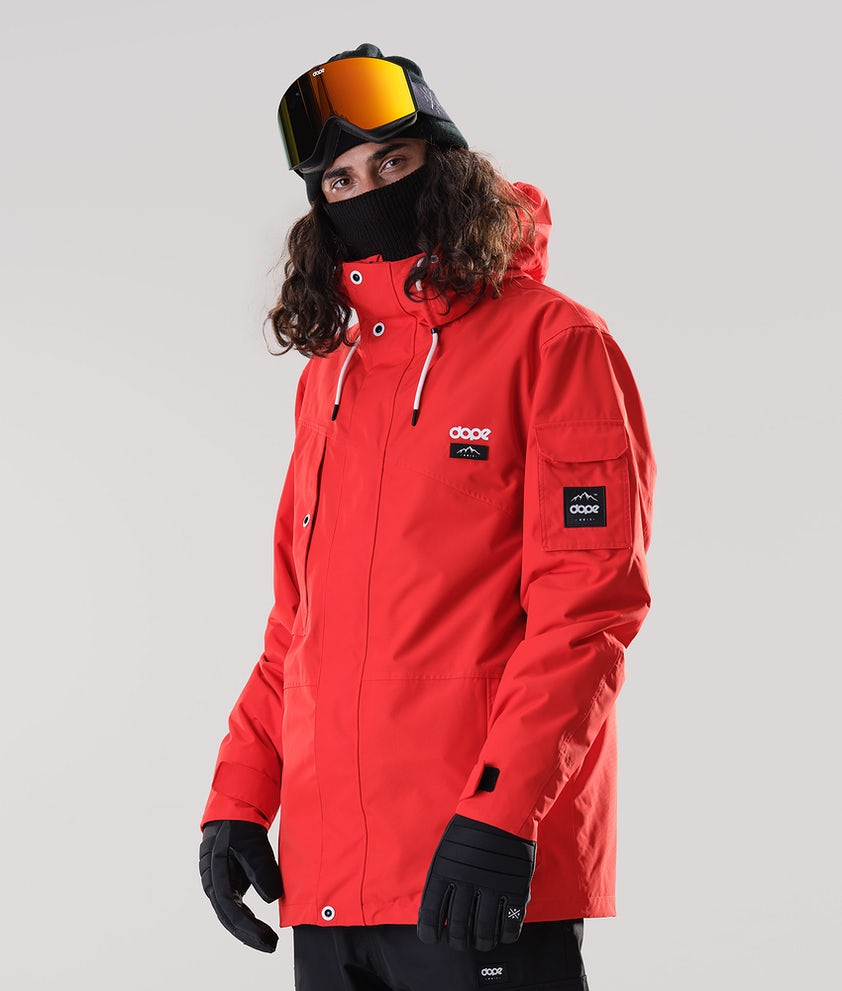 Dope Adept Snowboard Jacket Red