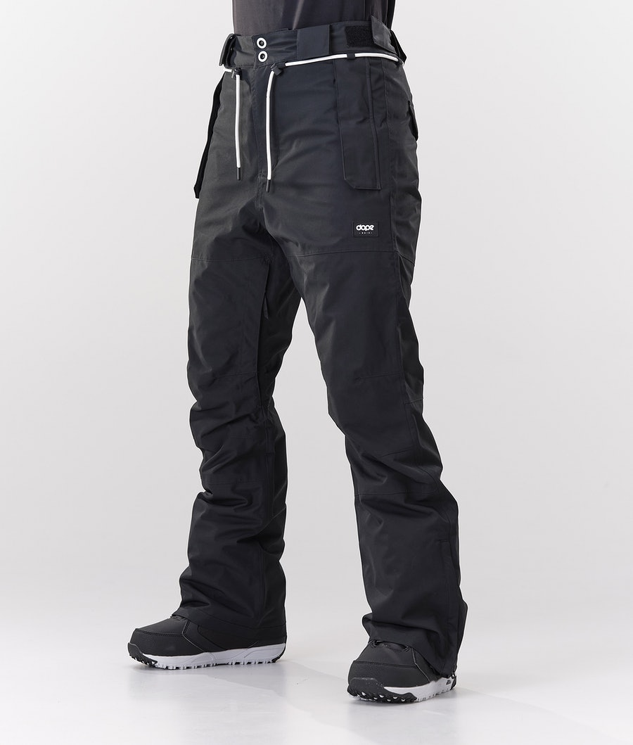 Dope Classic W Snowboardbukse Black