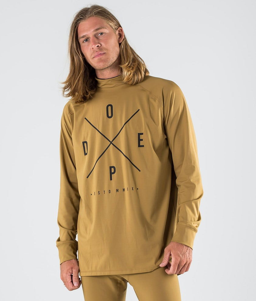 Dope Snuggle 2X-UP Funktionsshirt Gold