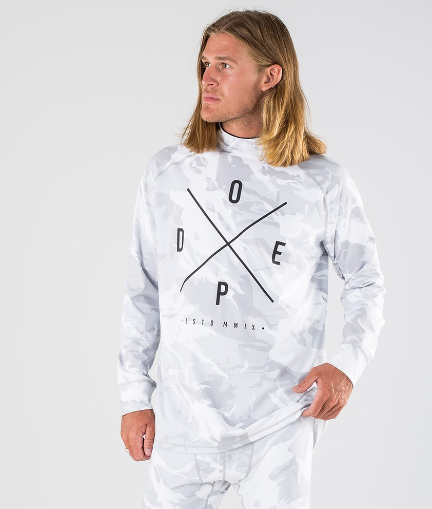 Dope Snuggle 2X-UP Base Layer Top Tucks Camo