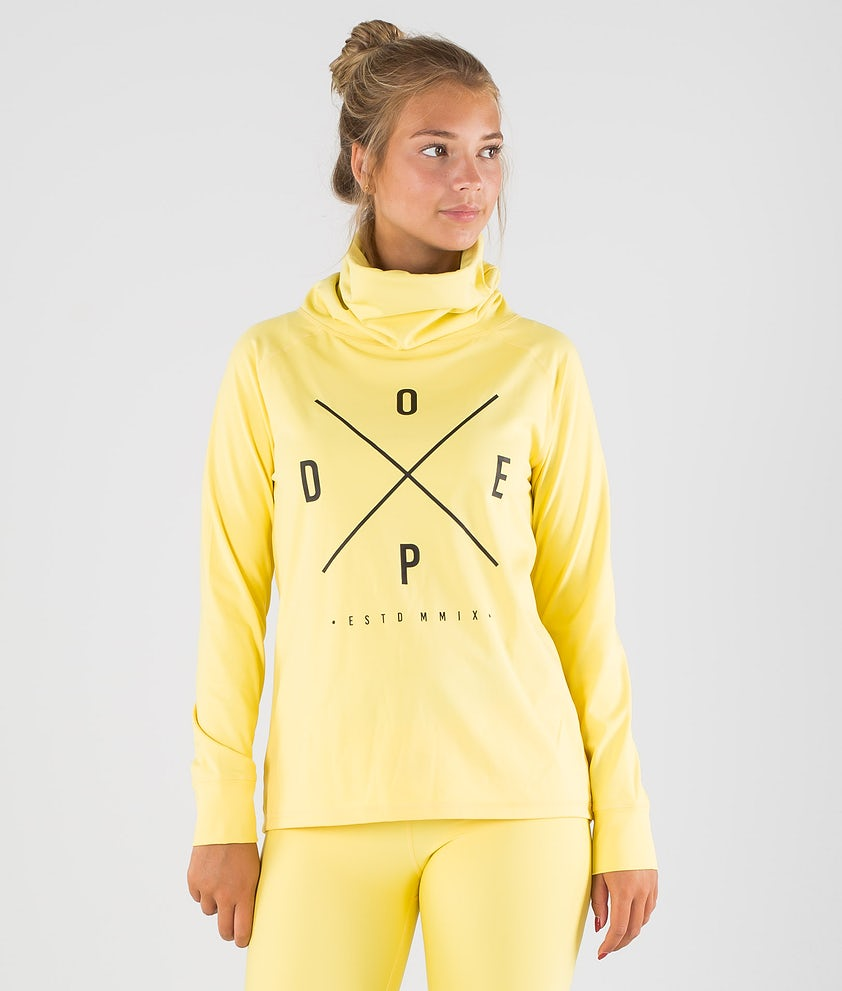 Dope Snuggle 2X-UP W Base Layer Top Faded Yellow