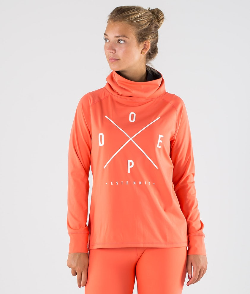 Dope Snuggle 2X-UP W Base Layer Top Coral