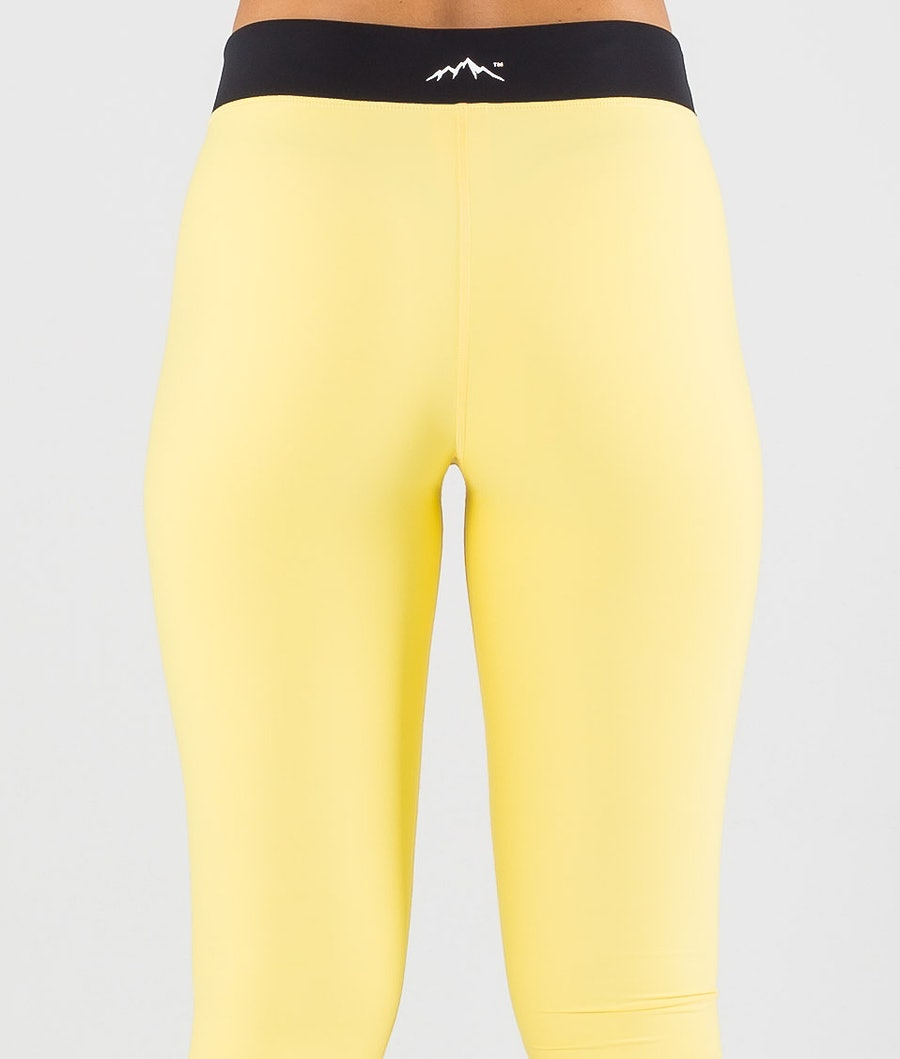 Dope Snuggle 2X-UP W Pantalon thermique Femme Faded Yellow