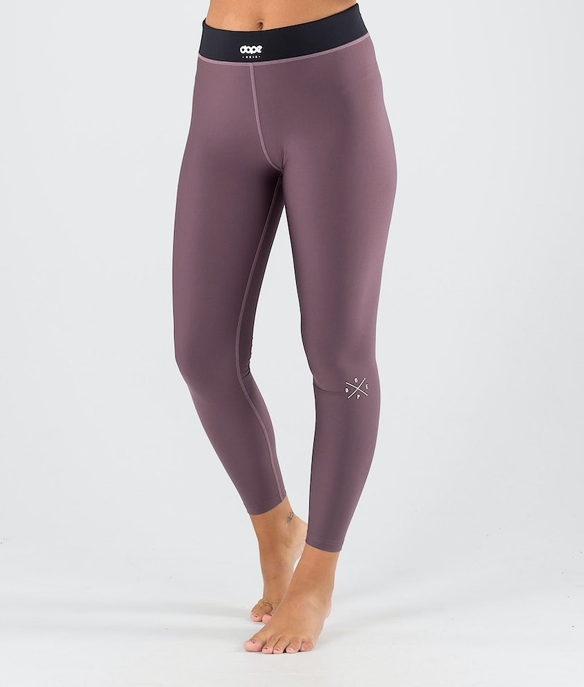 Dope Snuggle 2X-UP W Base Layer Pant Faded Grape