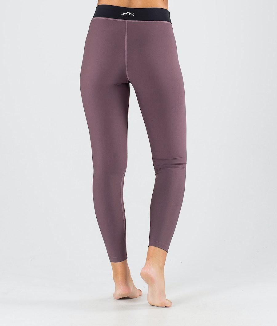 Dope Snuggle 2X-UP W Pantalon thermique Femme Faded Grape