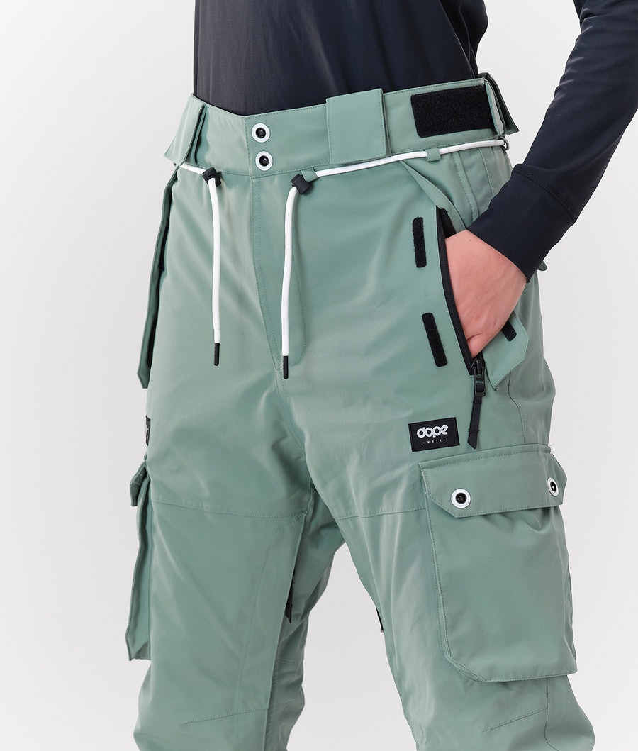 Dope Iconic W Women's Snowboard Pants Faded Green