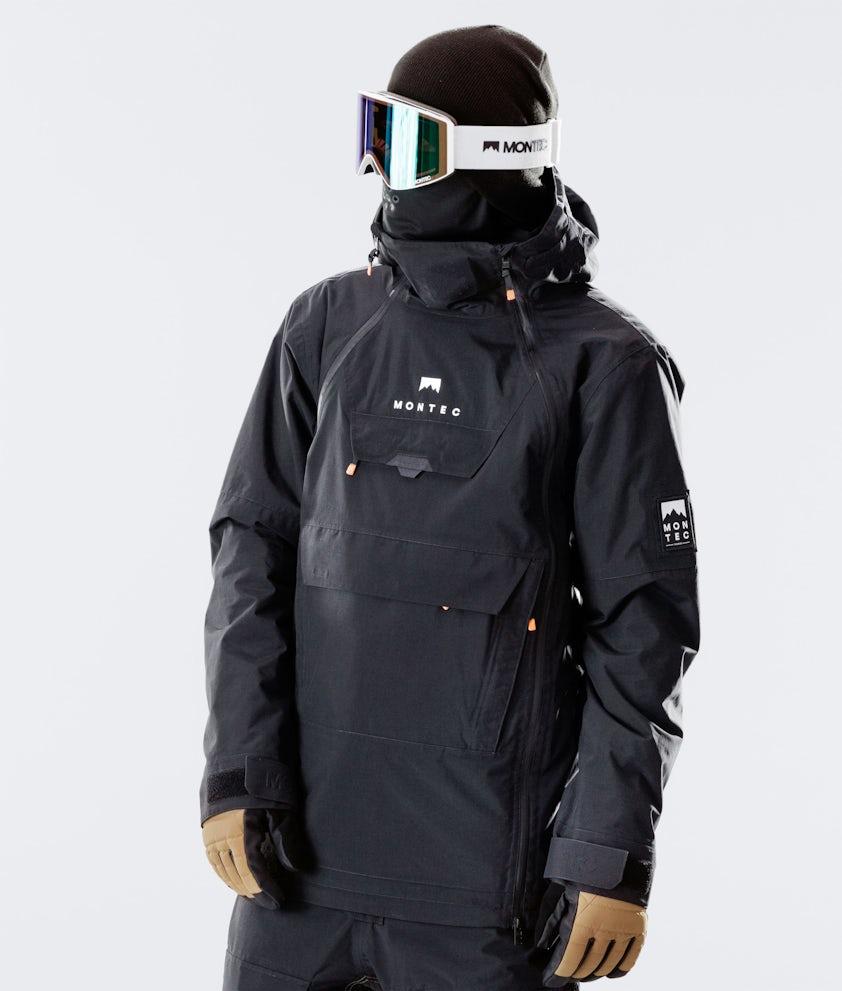 Montec Doom Snowboardjacke Black